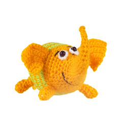 Knitted toy