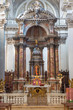 Venice - The main altar in church Santa Maria del Rosario