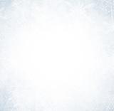 Fototapety Christmas background with crystallic snowflakes.