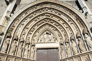 Church od Castello de Empuries.Catalonia.Spain