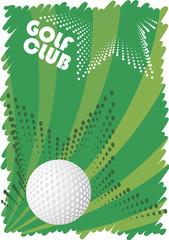 Green golf motive