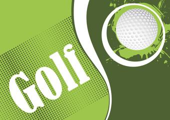 Green golf playfield