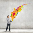 canvas print picture - Creative thinking