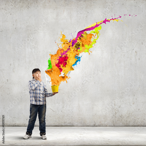 canvas print picture Creative thinking