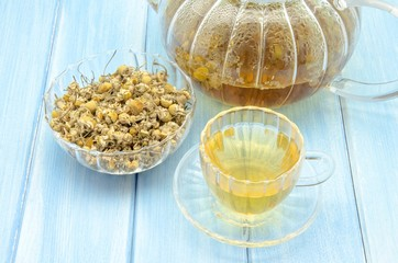 Infusion of chamomile