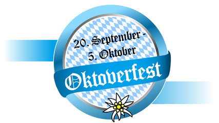 20. September - 5. Oktober Oktoberfest