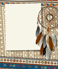Dream catcher card 2