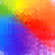Rainbow geometry background