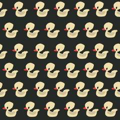 Seamless duck pattern