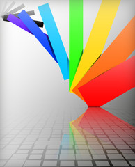 background colors of the rainbow