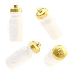 Drinking sport bottle isolated