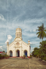 old catholic cathedral in Savannakhet