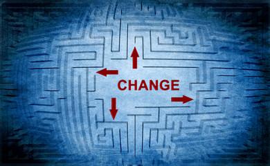 Change maze concept