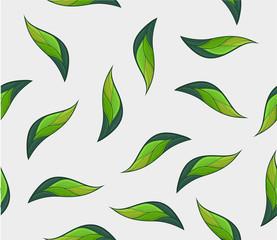 Plant seamless pattern