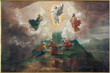 canvas print picture - Bruges - The Transfiguration of the Lord in st. Jacobs church
