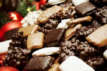Weihnachtsplätzchen und Kekse