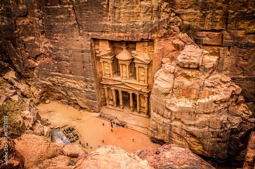 Papiers peints Ruine Petra Jordan