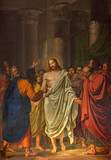 Venice - Resurrected Christ between the Apostles painting
