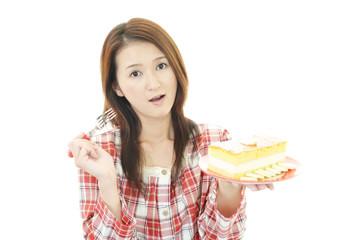 ダイエット中の女性