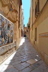 Narrow street,Sicily