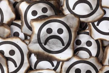 Burnt Sad Faces