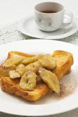 焼きバナナフレンチトースト