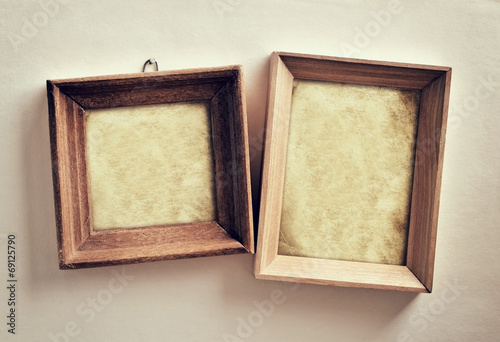Papiers peints Retro Picture frames