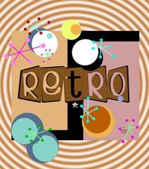 retro spiral background