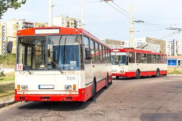 Trolleybus - Vilnius