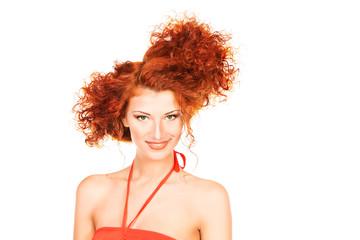 funny hairdo