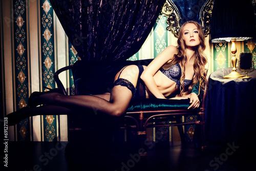 canvas print picture seductress