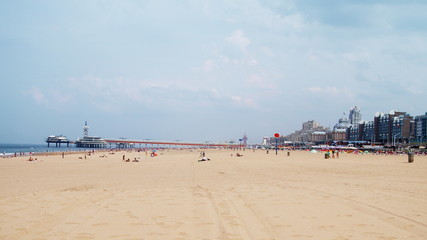 Beach of Scheveningen, Netherlands