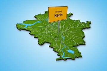 Stadtkarte Berlin