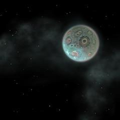 strange unusual moon