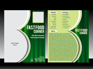 fast food corner Flyer Template