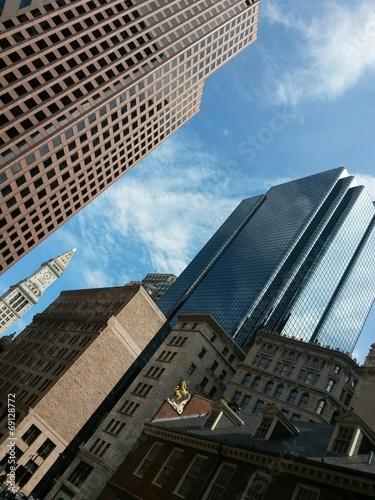 canvas print picture Downtown Boston