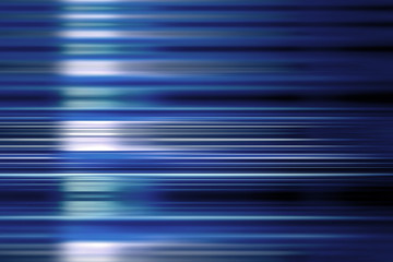 Blue speed blur background