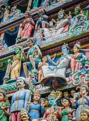 Singapur Hindu Tempel