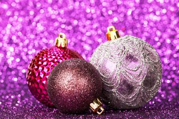 Beautiful christmas balls
