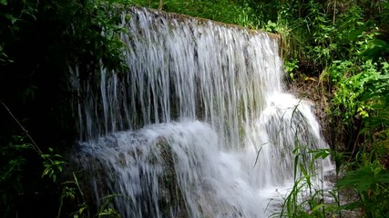 Waterfall in the National Park Slovak Karst, Haj