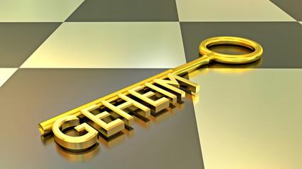 Geheim Schlüssel