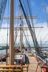 Masts os a sailingboat