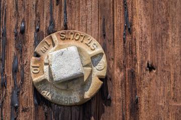 Rusted screw