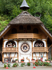 Clock House in Bavaria, Germany