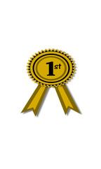 Insignia dorada de ganador
