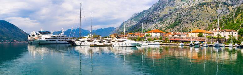 The promenade of Kotor
