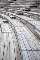 Wooden seats