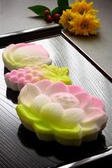 落雁 盆菓子 和菓子