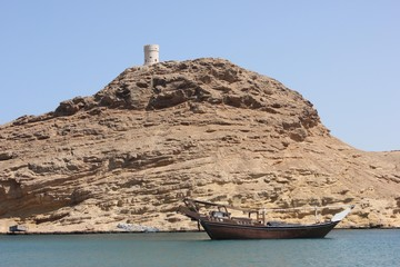 View of Oman