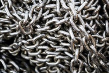 chains closeup